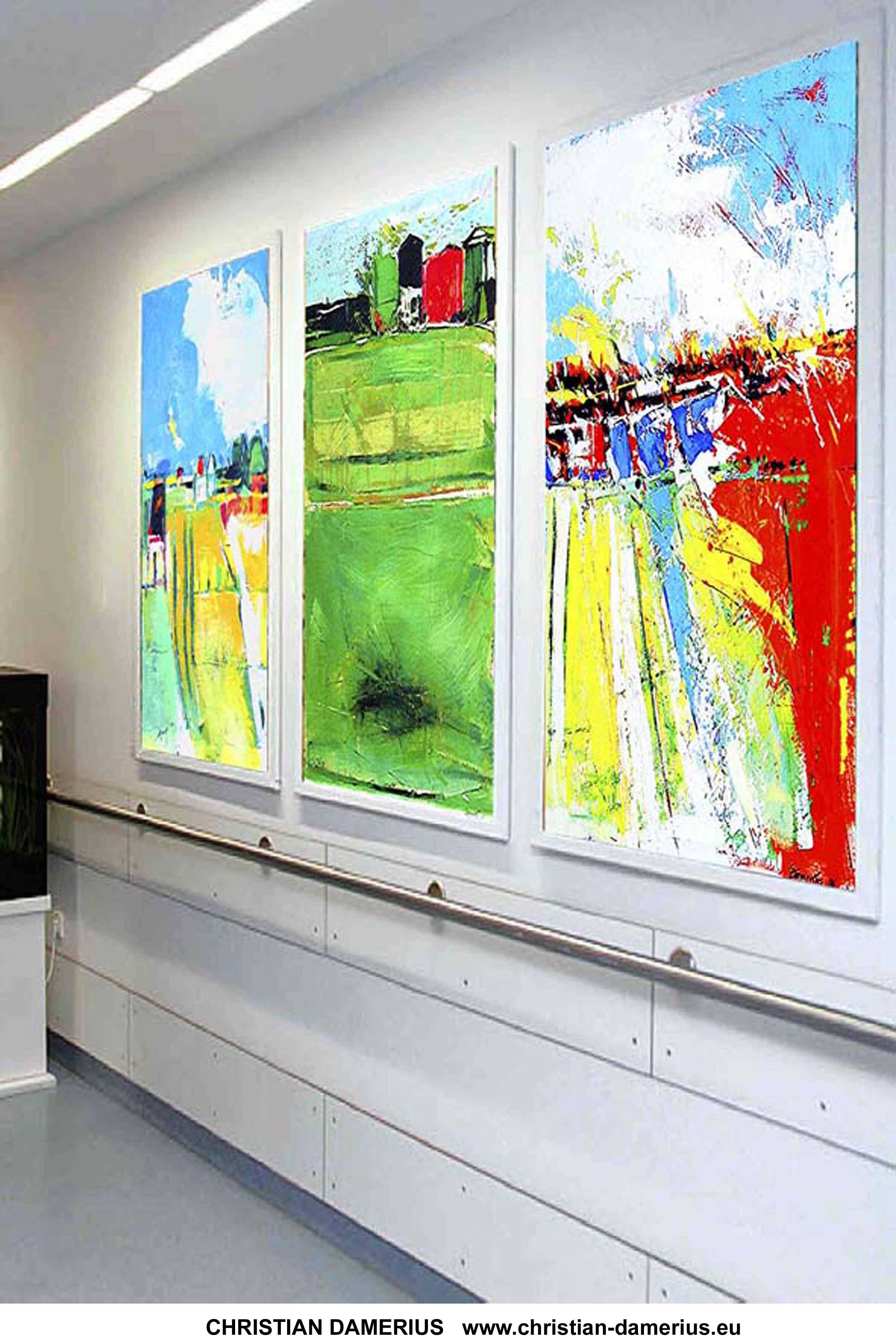moderne bilder f r b ros malerei auftragsmalerei auftragskunst. Black Bedroom Furniture Sets. Home Design Ideas