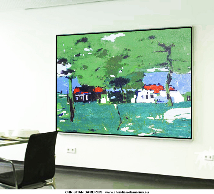 am see,gemälde kunstdrucke kaufen,bildfarben gelb rot blau grün,CHRISTIAN DAMERIUS,BÜRO, BÜRORÄUME, BILDER, MALEREI, RAUMGESTALTUNG, WANDGESTALTUNG MIT BILDERN, KUNSTDRUCKE HAMBURG KAUFEN,moderne kunst bilder leinwand,BILDER FÜR BÜRORÄUME, MODERNE MALEREI, MODERNE LANDSCHAFTSMALEREI IN HAMBURG, AUFTRAGSMALEREI