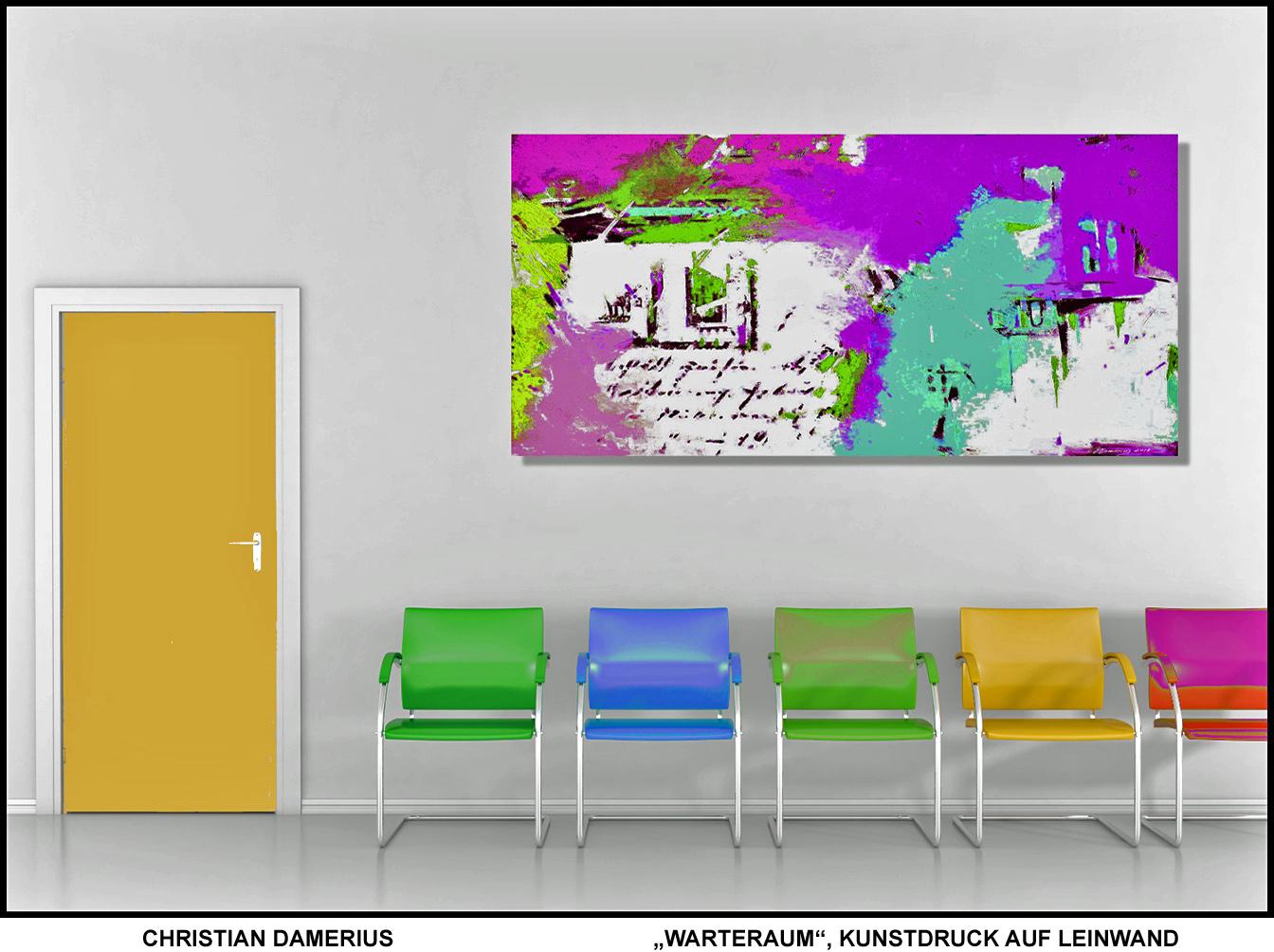 warteraum,wartezimmer,kunstdrucke motiv räume,moderne deutsche malerei,abstrakte malerei,