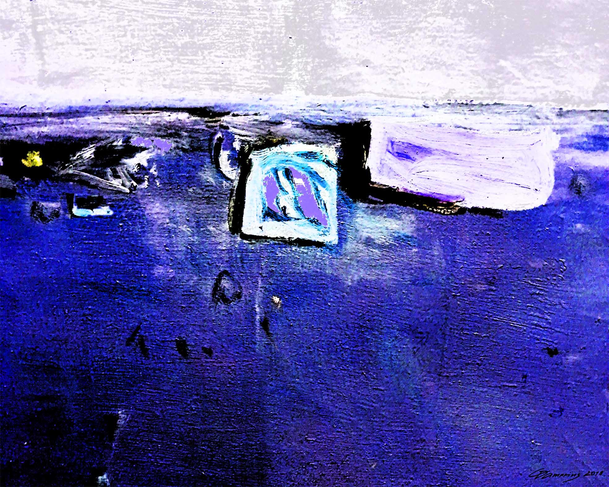 stillleben 10 in blau, moderne stillleben, stillleben kunstdrucke kaufen,